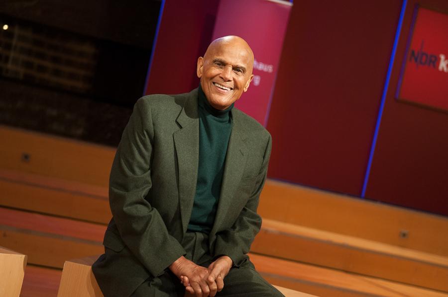 Harry Belafonte bei der Vorstellung seiner Biografie