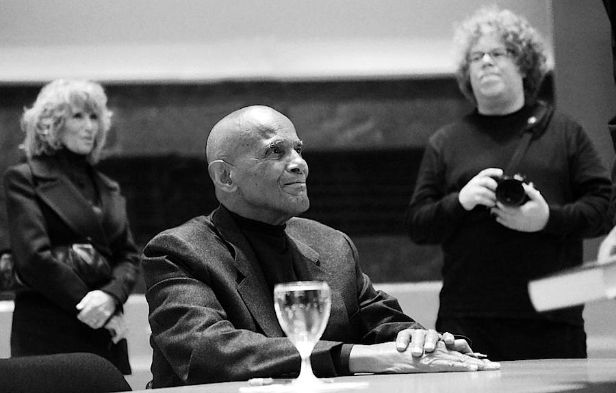 Harry Belafonte mit seiner Frau und mir :-) Foto: Yvonne Szallies-Dicks
